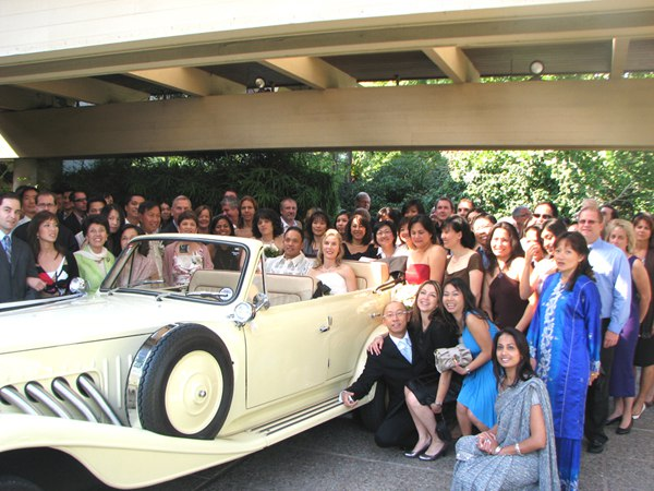 wedding Group with vintage Beauford