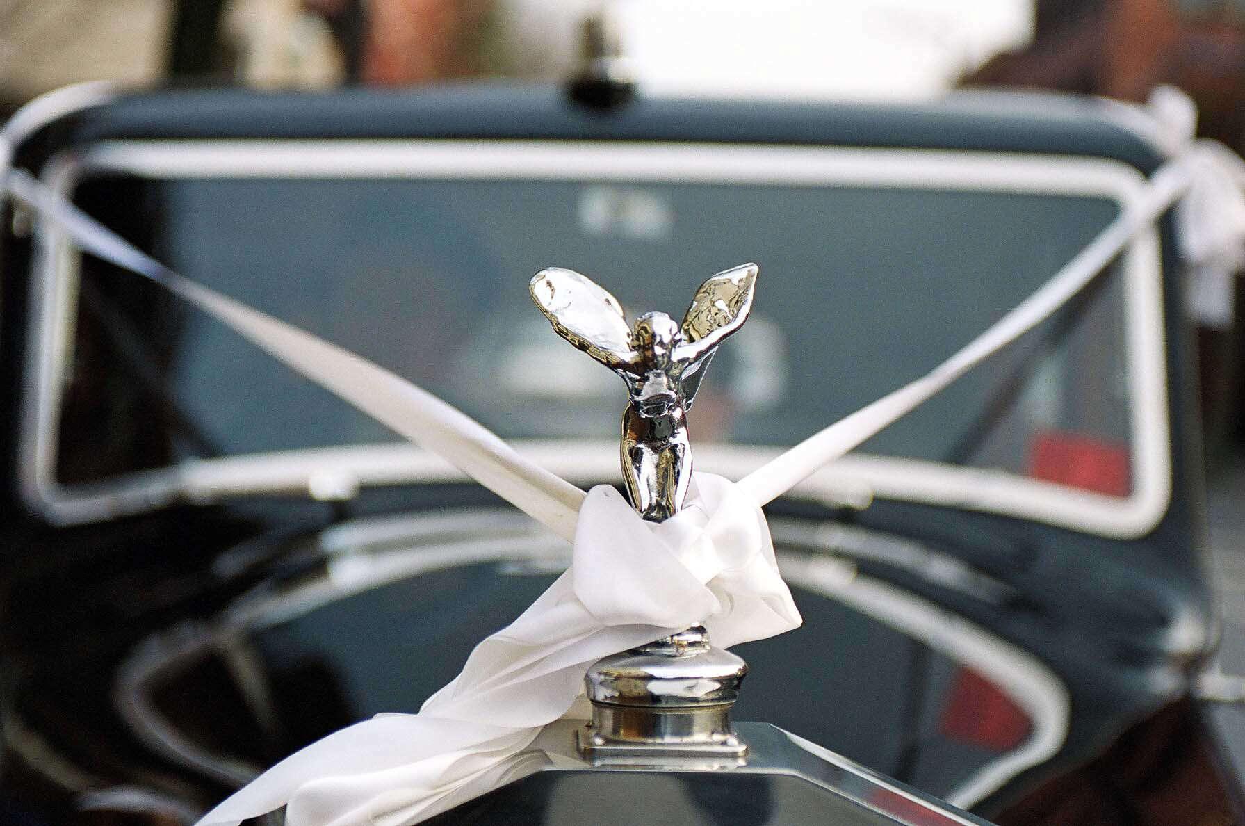 Vancouver Rolls Royce Wedding car