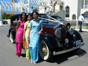 Group by Indian Wedding Car in Vancouver