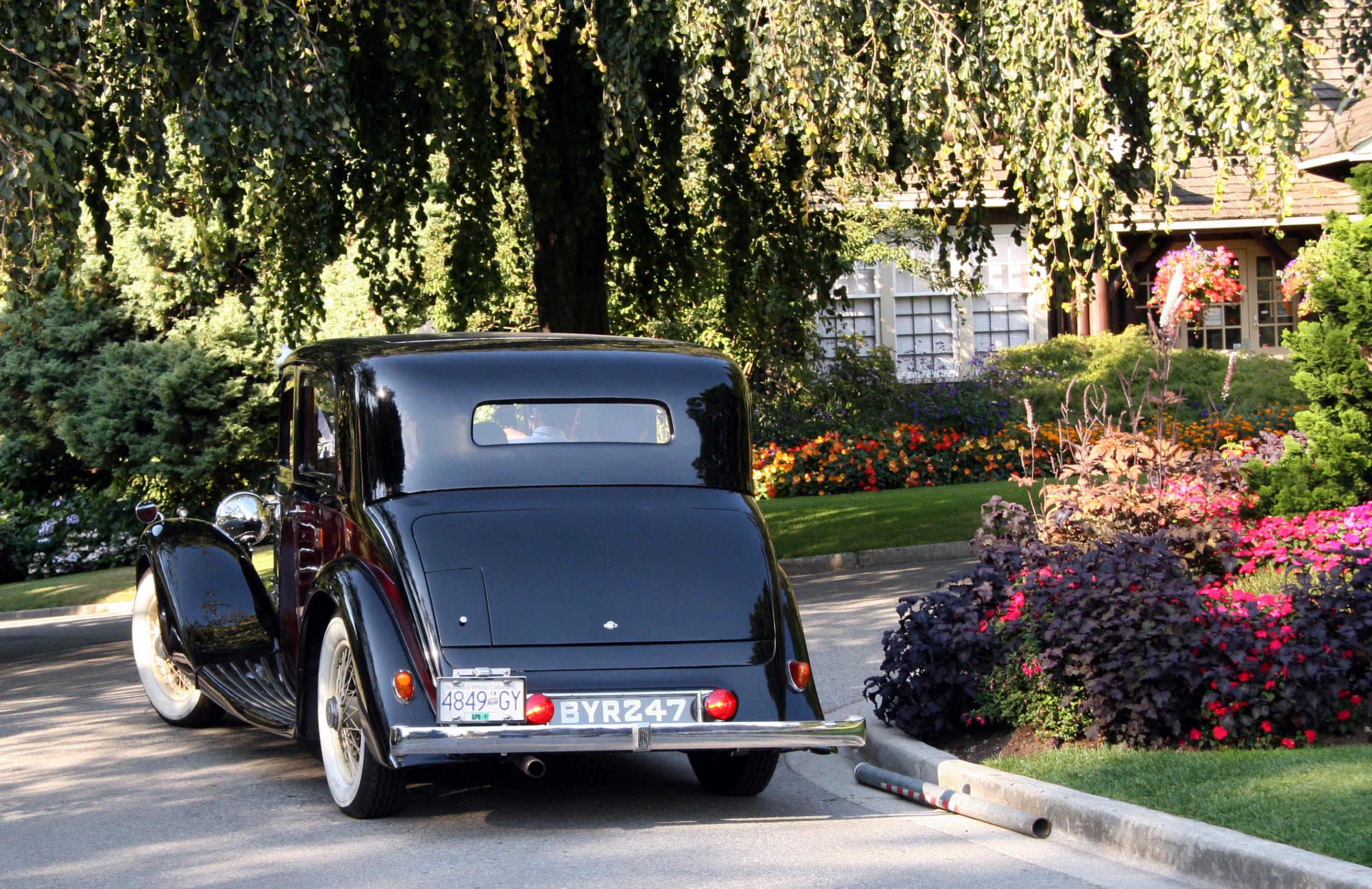 1935 Rolls Royce Wedding limo Vancouver