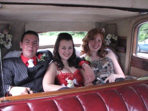 Grads in Vancouver Limo