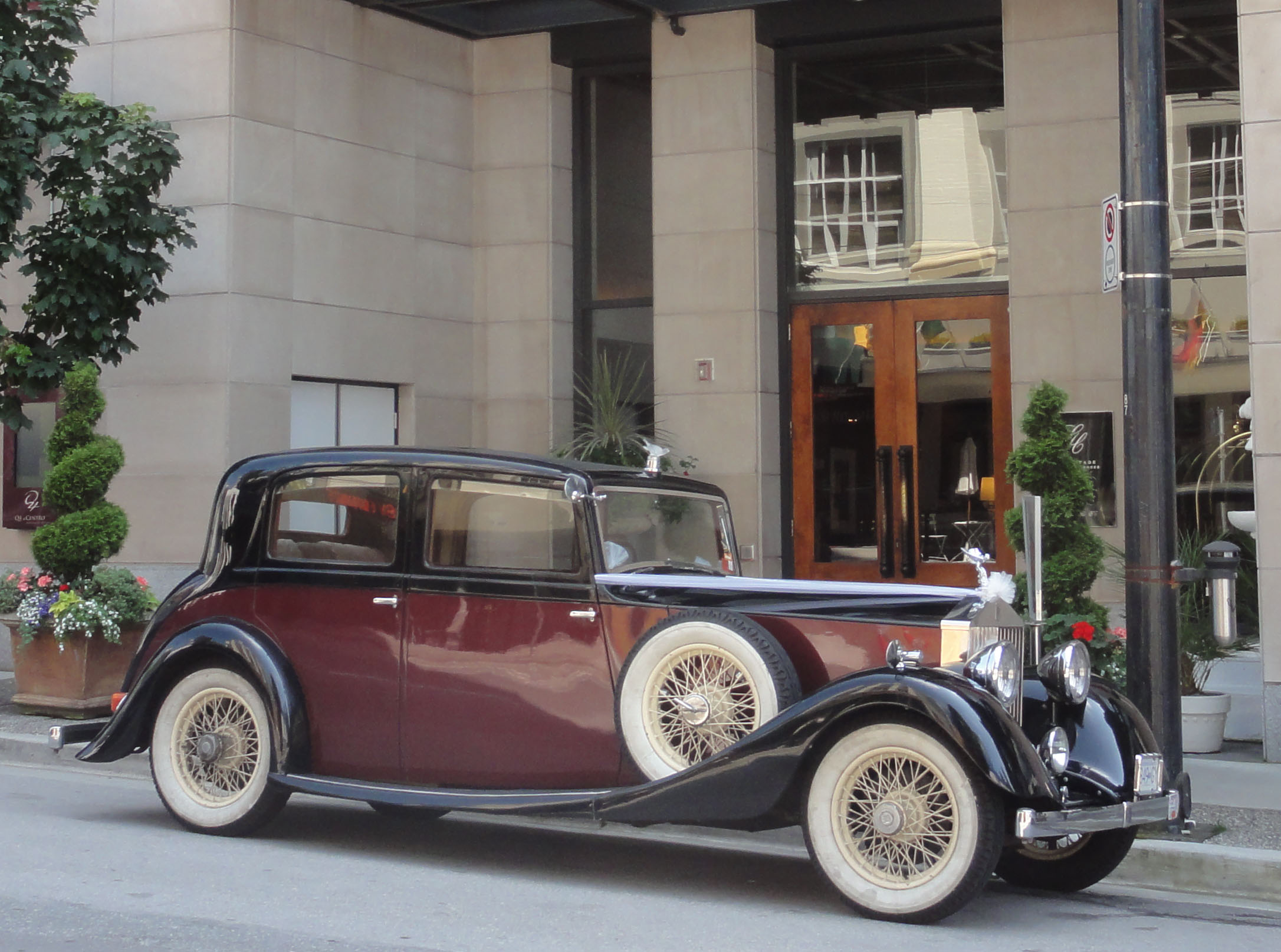 vintage car rental corporate services