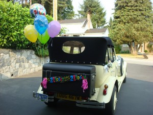 21st birth day Vancouver Classic Limo